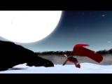 красная шапочка (Убивашка) и серые (чёрные) волки